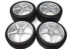 Ferrari 458 Set Rims with Tyres 262949 262950 Set of Wheels with Tires