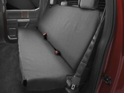 Weathertech Medium Highback Bench Seat Protector For Trucks Cars Suvs In Black