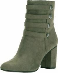 Kenneth Cole REACTION Women's TIME to BE Ankle Bootie with Faux Button...