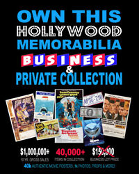 AMAZING • 30000+ Movie Posters • Business & Private Collection • PROPS & MORE!