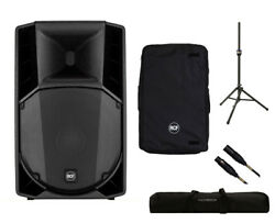 RCF ART 715-A MK4 Active Speaker Monitor + Cover + Stand + Bag + Mogami Cable
