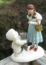 Department 56 Wizard of Oz Dorothy with Scottie Dog Toto Snowbabies