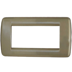 Vimar Boat Switch Cover Plate 16754.34  Brushed Nickel 5 78 x 3 14