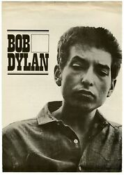 Bob Dylan 1964 The Times They Are A-changinand039 Cbs Press Release