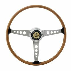 1967 Shelby Gt350 Steering Wheel 1968-1973 Mustang W/ Gt350 Horn Button And Sleeve
