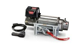 Warn 26502 M8000 Series 12 Volt Electric Winch W/ 8000 Lb Capacity 100 Ft Rope