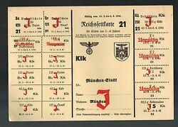 Original Germany Ww 2 Food Rations Munich Margerine Butter 21