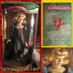Ultra Rare Possible 1 Of A Kind Collectors Choice Fine Bisque Porcelain Doll