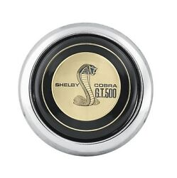 1965-1973 Mustang Concours Reproduction Shelby Steering Wheel Horn Button Gt 500