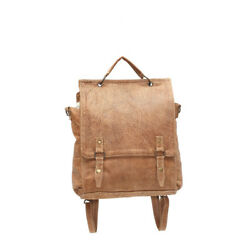 The Gemini Genuine Leather Convertible BackpackCrossbody Bag