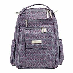 Ju-Ju-Be Legacy Collection Be Right Back Backpack Diaper Bag Amethyst Ice