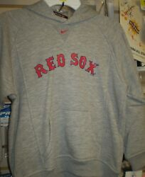 Boston Red Sox Nike Youth Grey Hoody Hoodie Size 6 Nwt New
