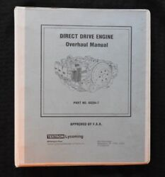 1966-1979 Lycoming Direct Drive 6 And 8 Cylinder Aircraft Airplane Engine Overhaul