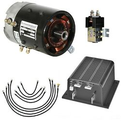 EZGO TXT 2000-2009 36V Golf Cart High Torque Motor Controller Conversion System