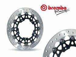 Pair Brembo Front Brake Discs Sbk Yamaha Yzf R1 / R1m After 2015