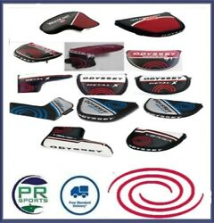 New Odyssey Golf Putter Head Cover Selection Xg / White Ice / Metal X / Works