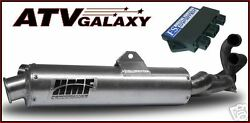 Grizzly 660 Hmf Full Exhaust Pipe And Dynatek Cdi 2002 - 2008