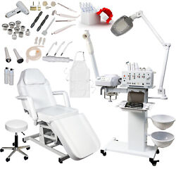 11 in 1 Facial Machine Micro Dermabrasion Hydraulic Bed Chair  Salon Equipment