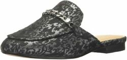 Marc Fisher Womenand039s Whiley Mule 6 Black/silver