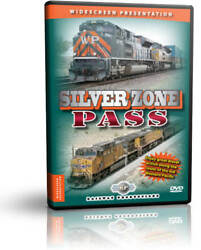 DVD or Blu ray: Silver Zone Pass Railway Productions $25.95