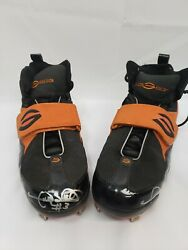 Gary Sheffield Dual Autographed Signed Game Used Worn Cleats / Spikes Loa