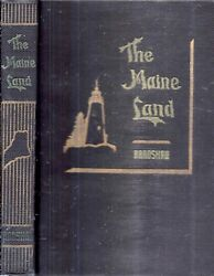 1944 Signed Maine Land Vacationland Profusely Illustrated Fine Gift Idea Usa