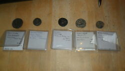 Kushan Empire - Coins Of 5 Different Kings Circa 80 Ad To 240 Ad See List Below