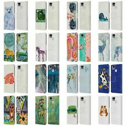 Official Wyanne Animals 2 Leather Book Wallet Case Cover For Asus Zenfone Phones