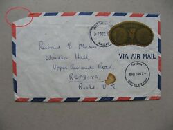 Bahamas, Cover Fdc To England 1968, 1 Stamp 12c Gold Coins Of The Bahamas, Money