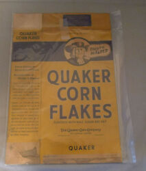 1940's Corn Flakes Cereal Box Westland Plane Advertising Empty Canadian Box