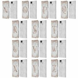 Nature Magick Rose Gold Marble Monogram 2 Brieftasche Huelle Asus Zenfone Handys