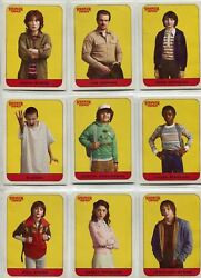 Stranger Things Season 1 Complete Character Chase Sticker Set #1-20