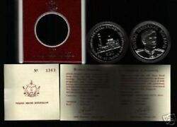Brunei 20 Ringgit 1987 Km32 Bcb 20th Any. Silver Proof Currency Money Asia Coin