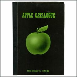 The Beatles 1971 Apple Records Promotional Catalogue And Covering Letter Uk
