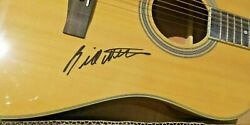 Bill Withers Lean On Me Ain't No Sunshine Signed Acoustic Guitar