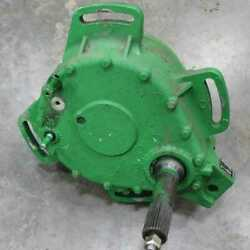 Used Rotor Drive Gear Case Assembly Compatible With John Deere S670 Sts