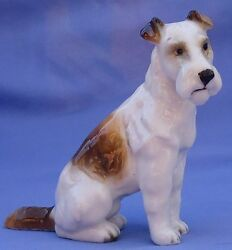 1950s FOX TERRIER JACK RUSSELL HUTSCHENREUTHER GERMANY DOG 5
