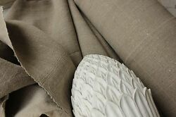 Antique Linen 25 Yards European Flax Fabric Large Bolt For Projects