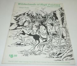 Wilderlands Of High Fantasy Judges Guild 1977 Dungeons And Dragons Book No Maps