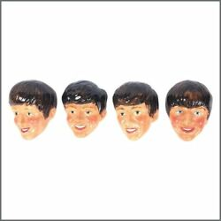 The Beatles 1964 Set Of Four Kelsbro Ware Wall Plaques Uk