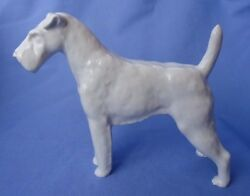 MEISSEN AIREDALE IRISH WELSH  FOX TERRIER GERMANY DOG 9