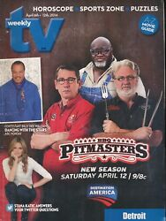 Tv Weekly 2014 Apr. 6-12 Pitmasters Bbq Fair/good Cond