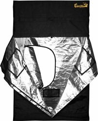 Gorilla Grow Tent GGT55 Tent 5 by 5 by 6-Feet11-Inch Black
