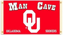 Oklahoma Sooners Man Cave 3x5 Flag Outdoor House Banner University Of