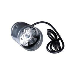 Hydro Crunch 4 inch Inline Duct Booster Fan 100 CFM Low Noise Home Ceiling Round