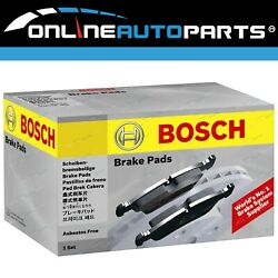 Bosch Rear Disc Brake Pad Set suits Daihatsu Charade G100 G102 G200 G202 G203