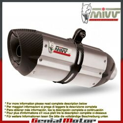 Mivv Approved Exhaust Mufflers Suono Steel Underseat For Ducati 916 1994 1998