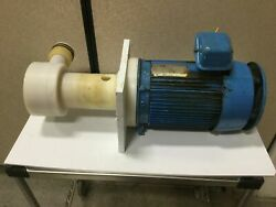 Penguin P-5b Vertical Pump And Motor 208-230/460v, 172gpm, 5hp, 122' Head