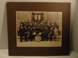 Early Photograph By Morrow Studio Of The Citizens Band Newport Pa Perry Co.