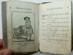 Cries Of London F. Newbery 1771 Extremely Rare 1st Edition Woodcutschapbook